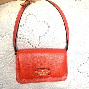 Kate Spade Red Hot Chili Crossbody Bag!!